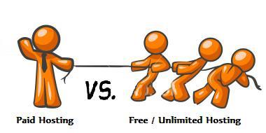 Free vs paid web hosting
