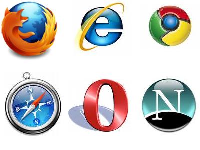 Internet web browser list