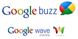 Difference between Google Buzz and Google Wave