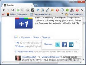 Google Plus Chrome Extensions