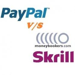 Skrill vs PayPal detailed comparison