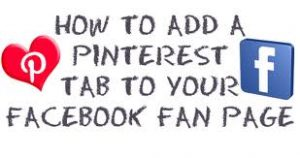Connect Pinterest to Facebook Page