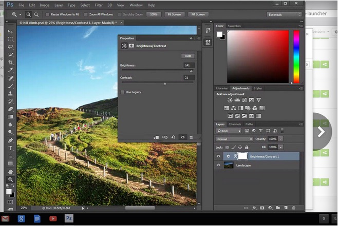 Project Photoshop Streaming