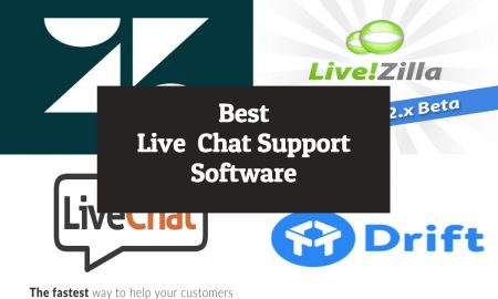 Best live chat support software