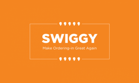 Official logo of Swiggy