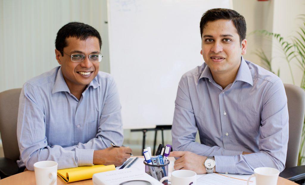 Photo of Sachin Bansal and Binny Bansal