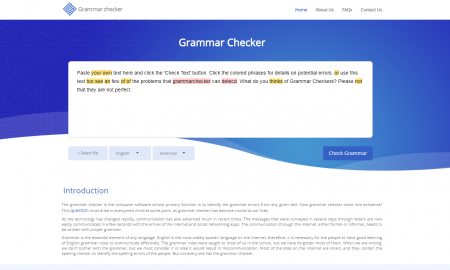grammar checker