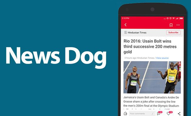NewsDog-app