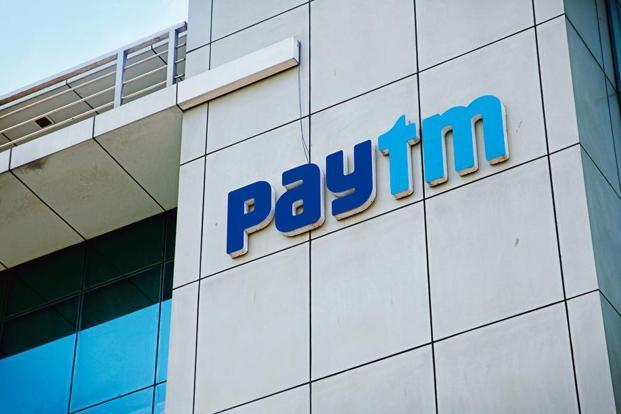 Logo of Paytm company