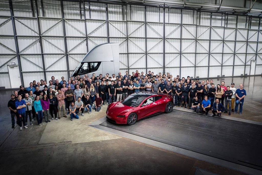 Tesla Happy Employees