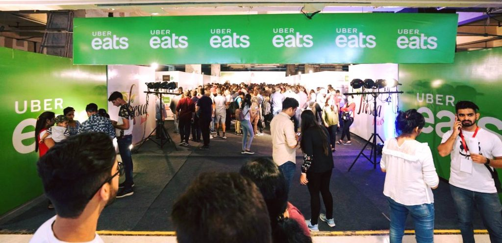 Uber Eats Event in India