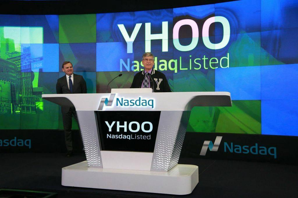 Yahoo Listed on NASDAQ