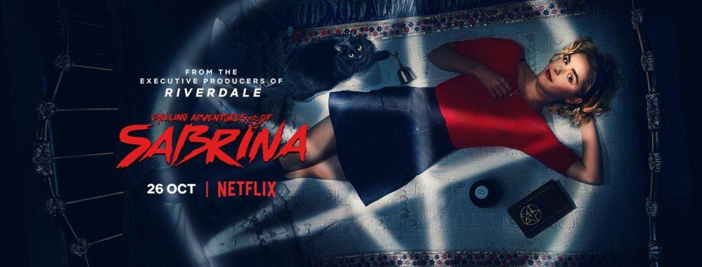 Netflix show Sabrina's poster