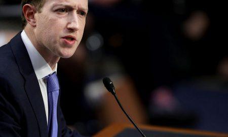 Mark Zuckerberg at the U.S. Congress hearing