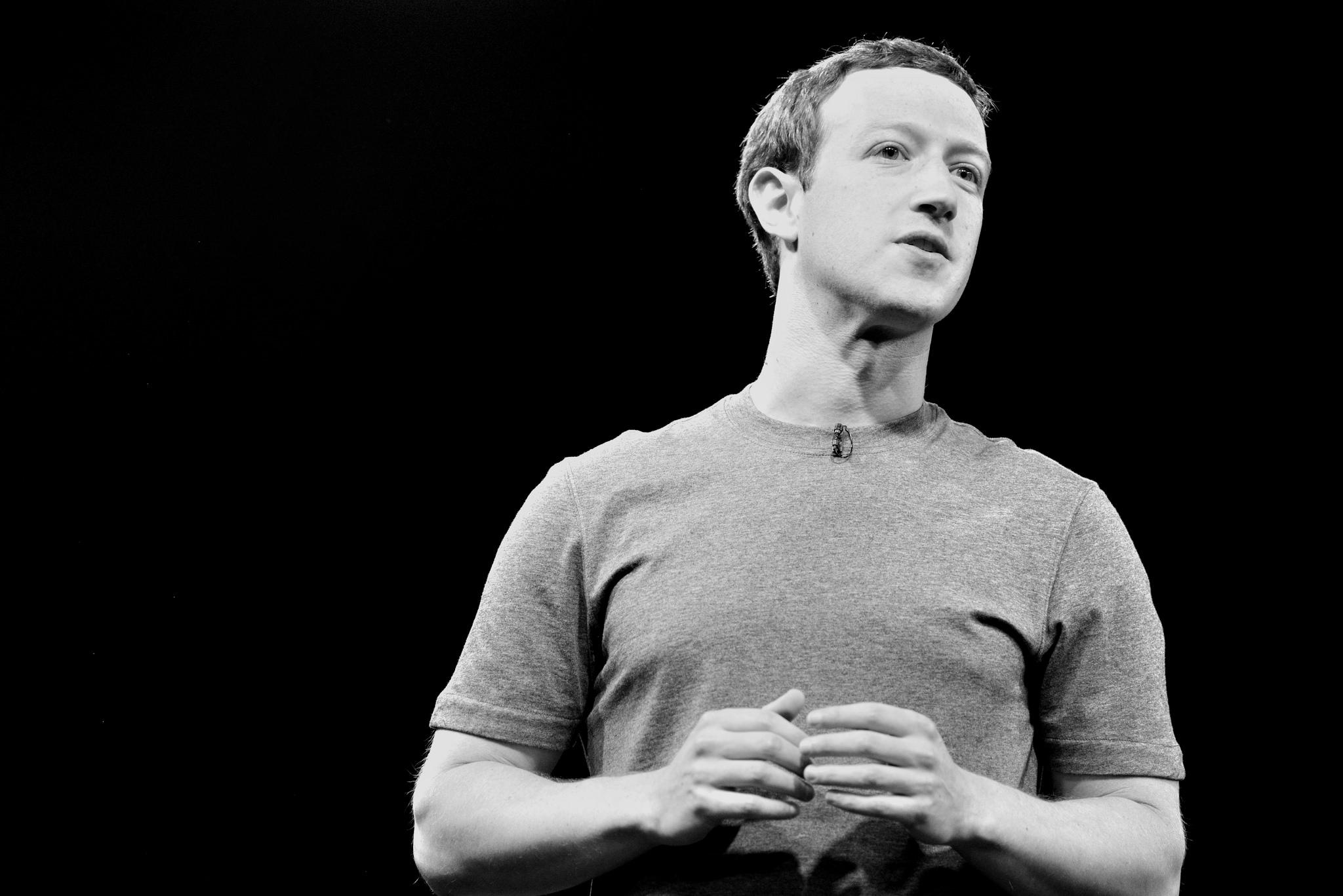 Facebook CEO picture