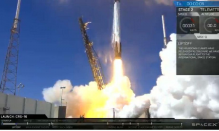 SpaceX Launches 20th Rocket