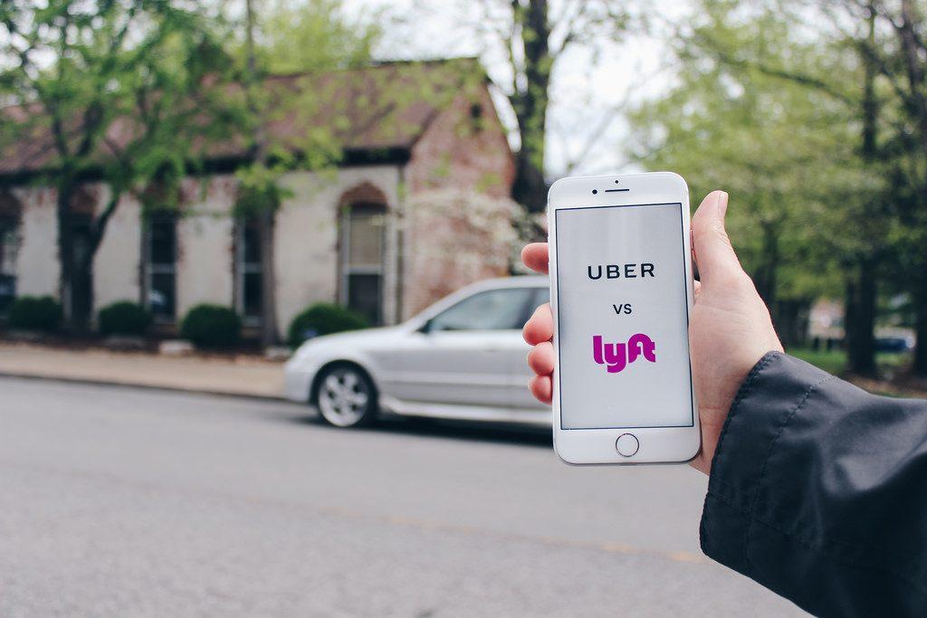 Lyft Beats Uber in the IPO race. Image Source: Flickr