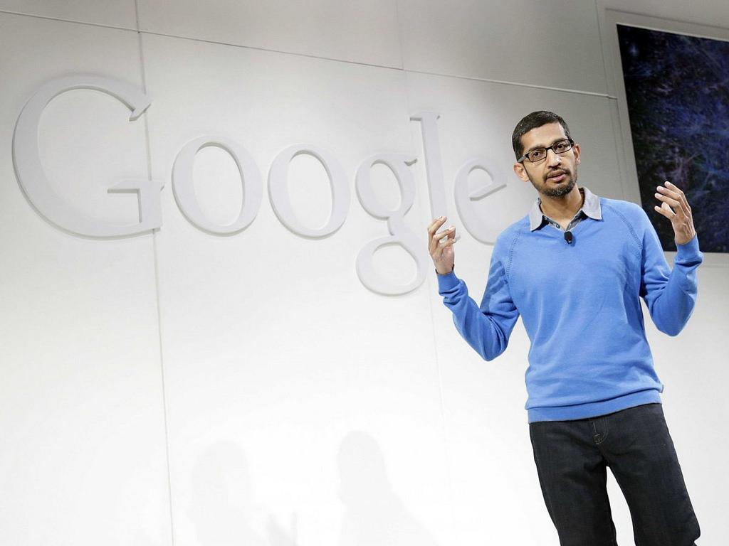 Photo of Google CEO Sundar Pichai