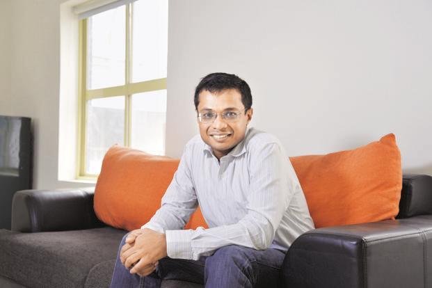 Sachin Bansal, Founder of Flipkart.