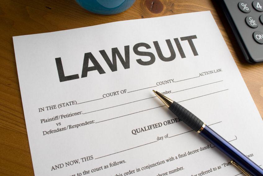 Lawsuit filing.