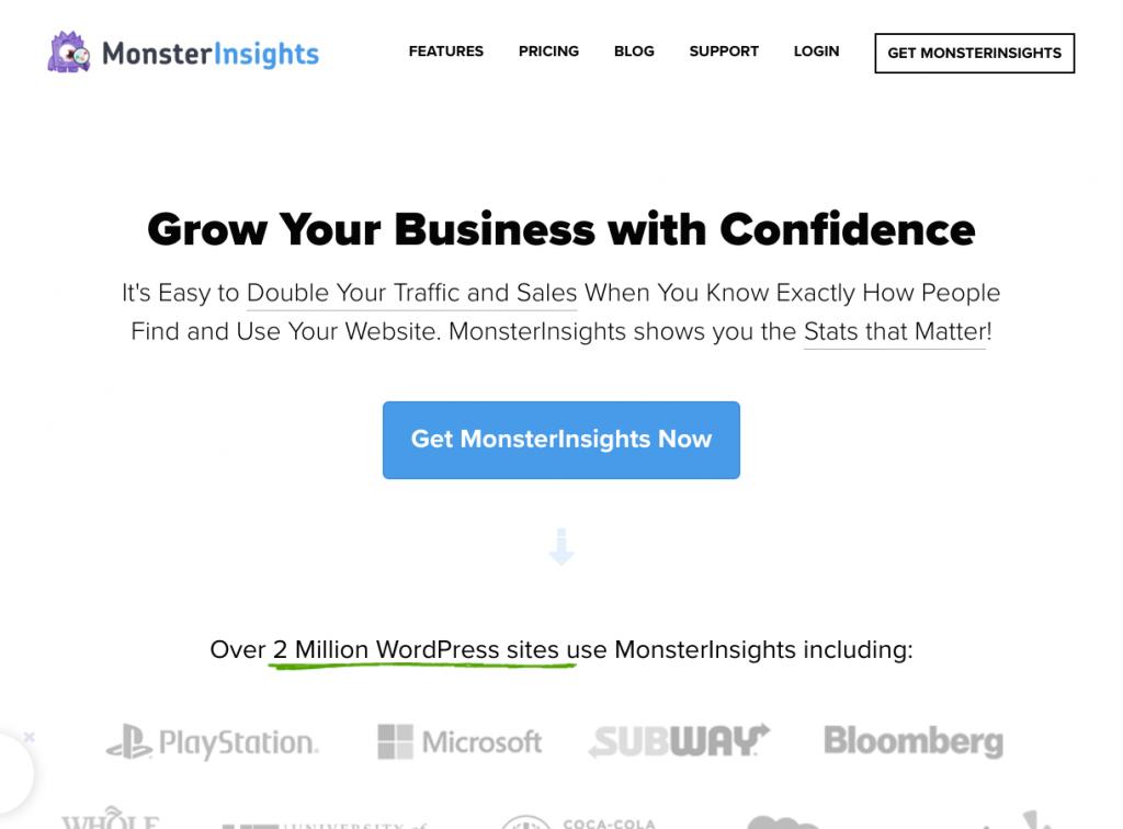 MonsterInsights-best google analytics plugin for wordpress