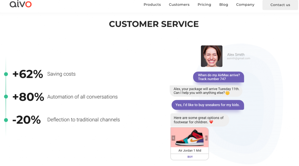 Avio - AI Chatbot to Boost Your Customer Support
