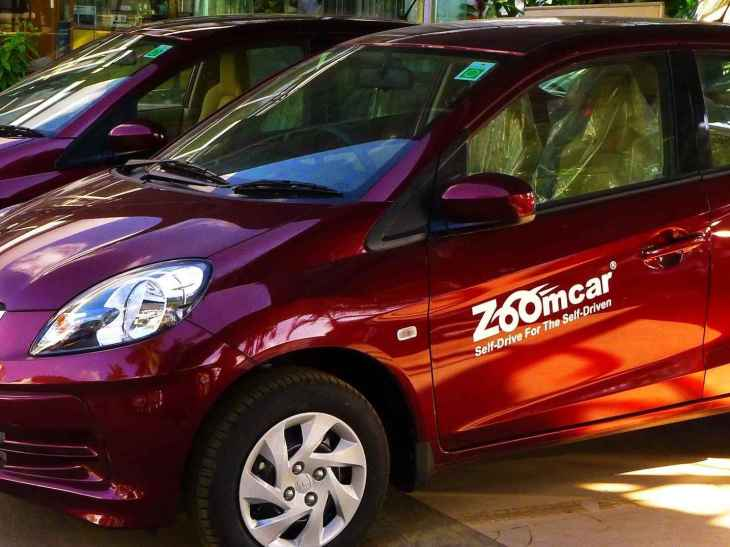 Self driving car rental startup Zoomcar