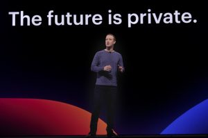 Mark Zuckerberg at a conferene