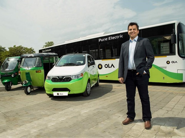Bhavish Aggarwal - co-founder and CEO of Ola