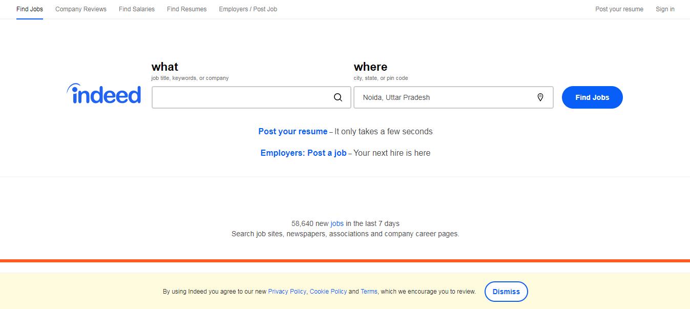 Indeed- Job Search India