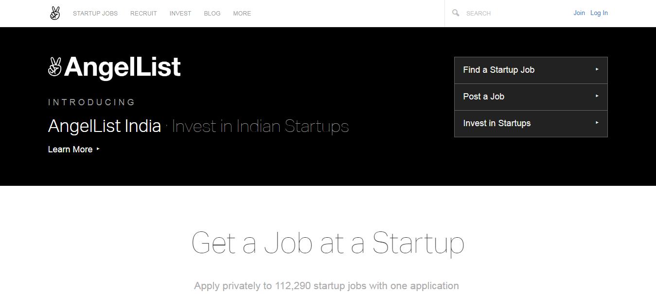 AngelList- Invest in Indian Startups