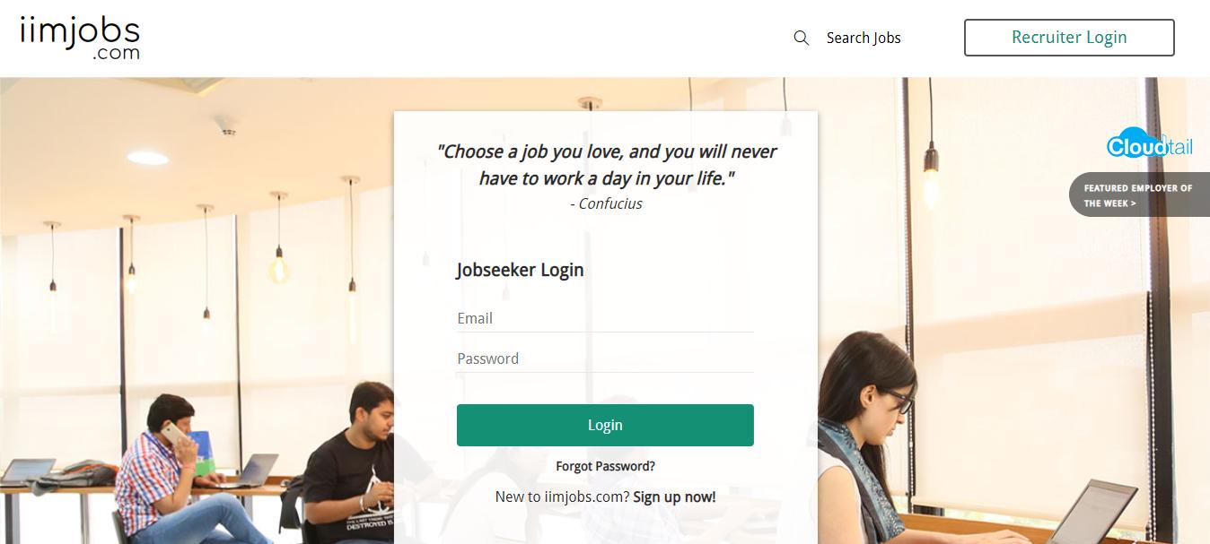 iim jobs- Choose a job you love