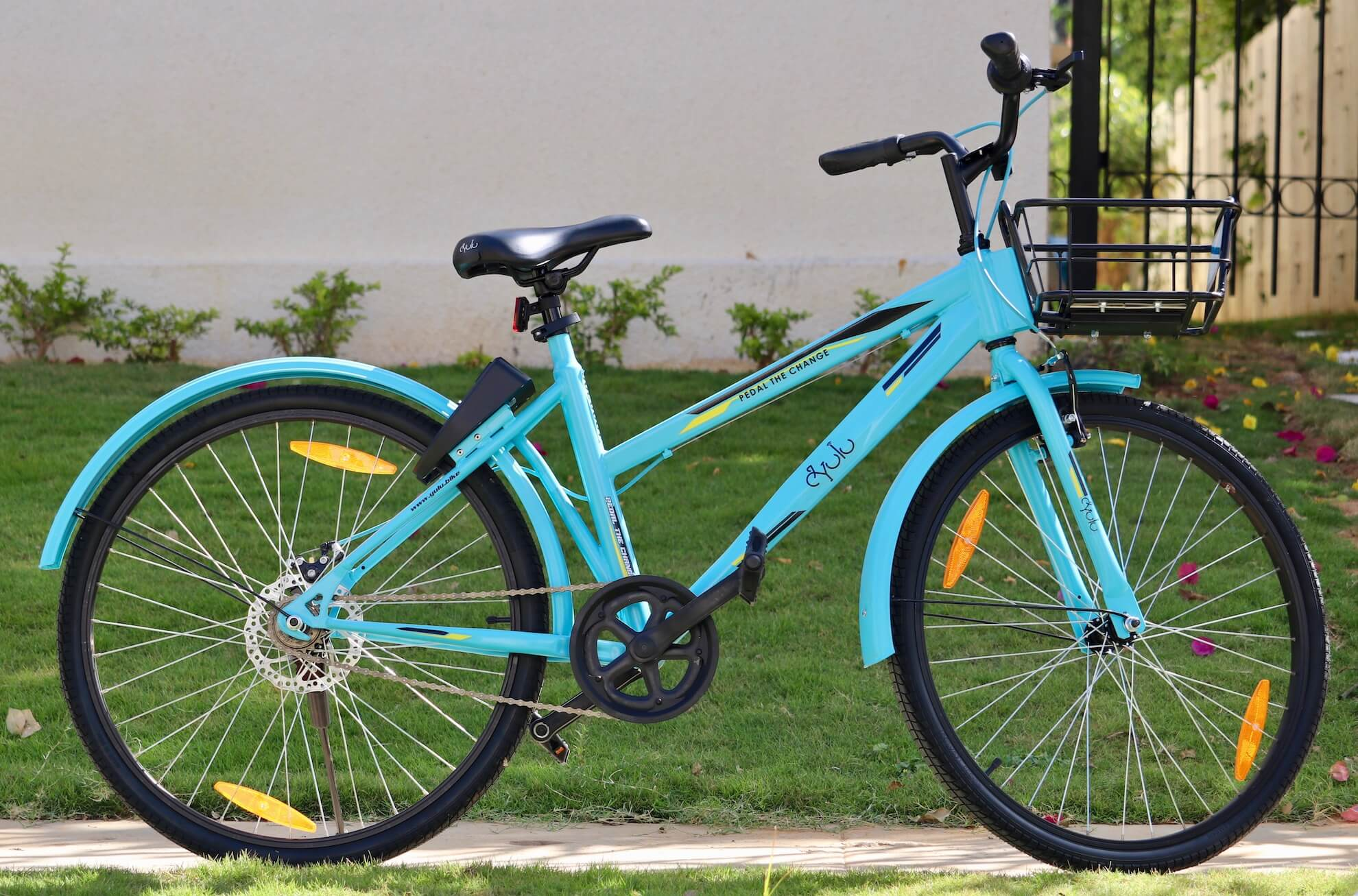 Bicycle rental startup Yulu