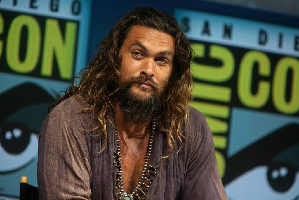 Jason Momoa at Comic Con