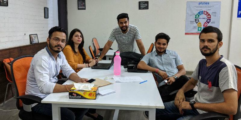 Plunes_Technologies'_team