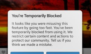 Guide to Action Blocked Instagram