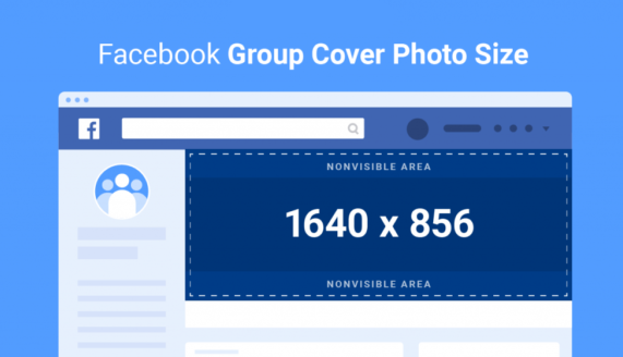 Facebook group cover photo dimensions
